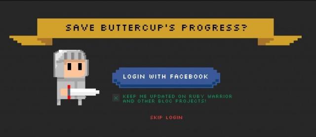 FBアカウントでのログイン