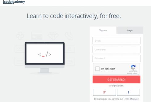 初心者でもプログラミングを学習できるwebサービス『Codecademy』