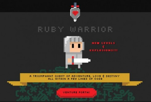 Ruby入門者がレベルアップするのにおすすめな『RubyWarrior』